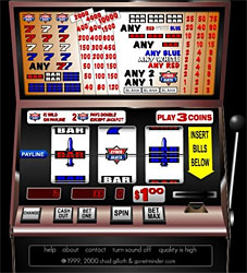 slot machine lever called